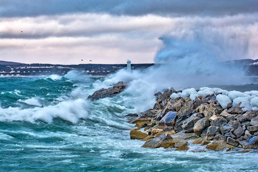 The Petoskey Breakwall