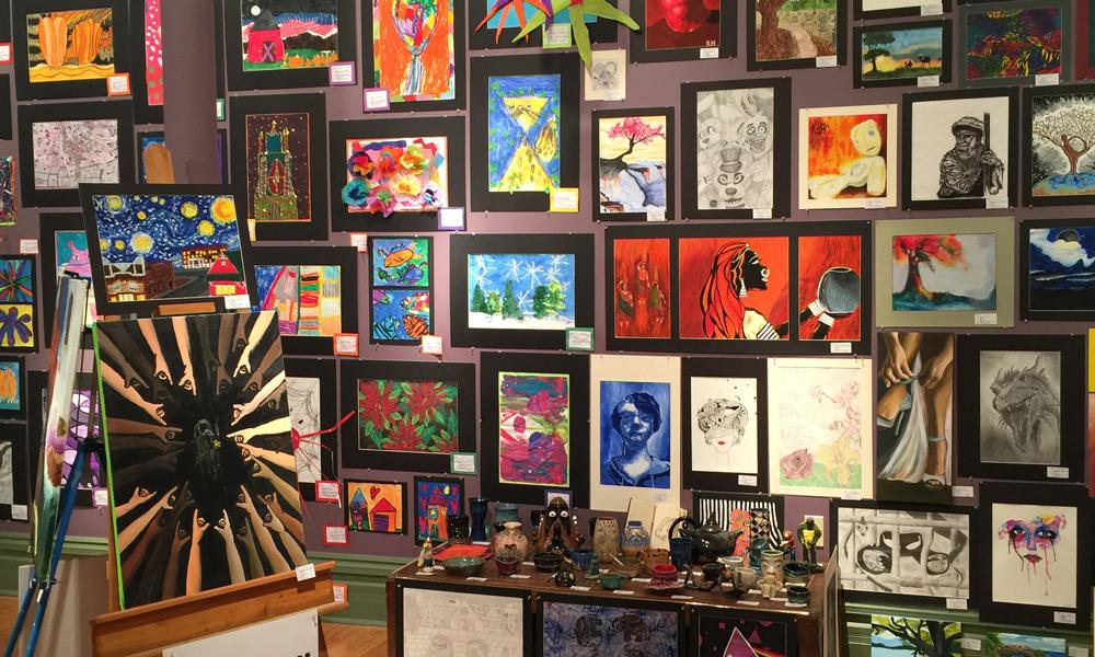Kindergarten Calendar Art : Youth art show petoskey crooked tree arts center